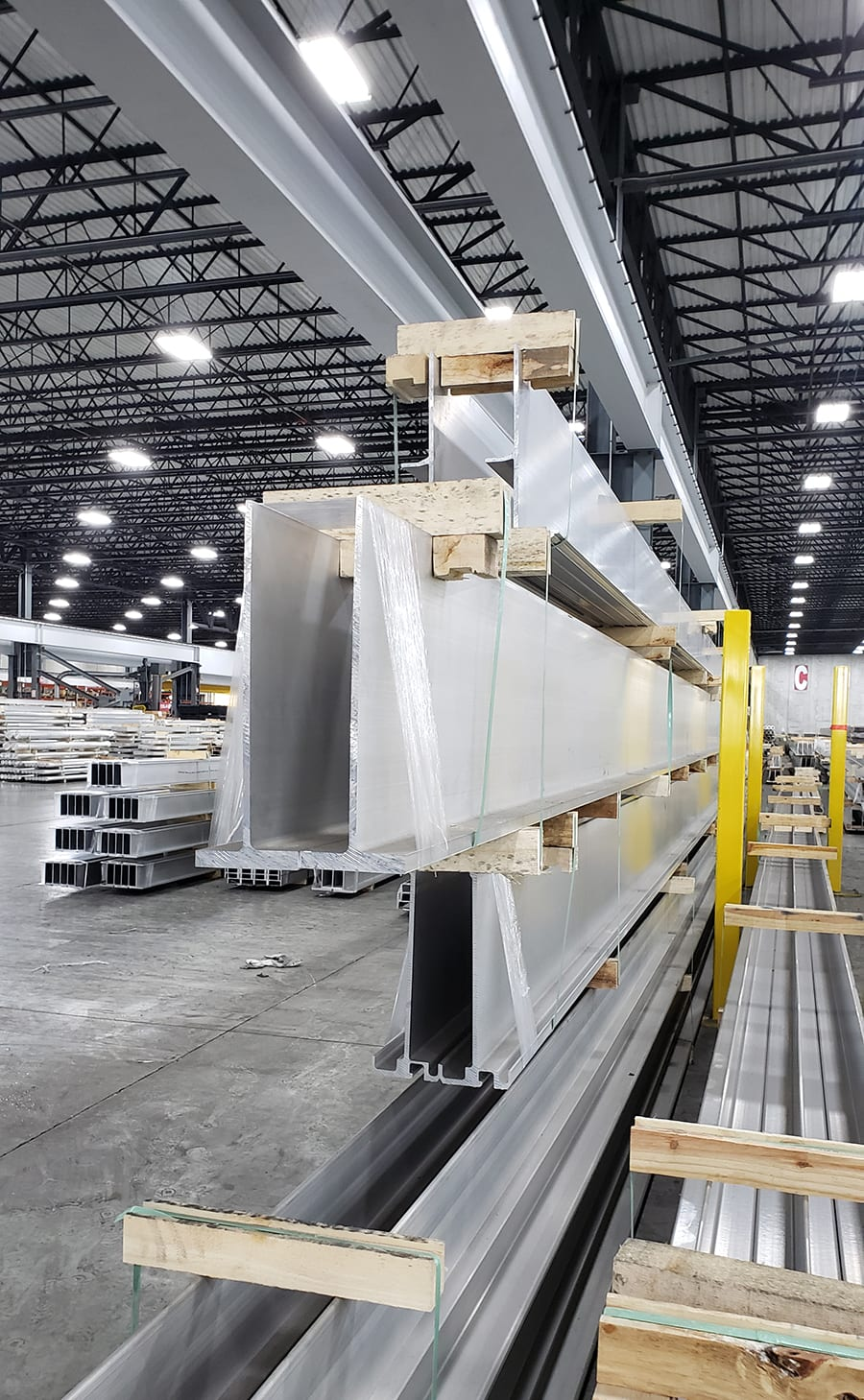 nanshan america can create custom extrusions for specialized projects